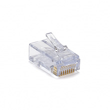 100010 EZ-RJ45 CAT6E+ connectors, pack of 50 PLA1010