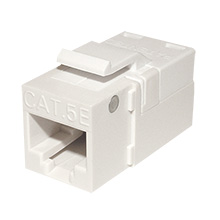 Platinum Tools 705WH-1 EZ SNAPJACK for  Cat5e Keystone, White, each PLA1018