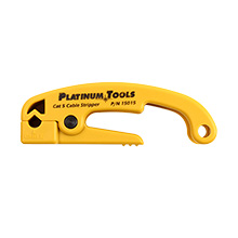 Platinum Tools 15015C Preset Cat 5/6 Cable Jacket Stripper PLA1033