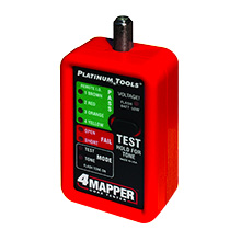 NstallMates™ 8-way coax mapper with Color Coded Indicators