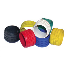 SealSmart Color Bands, Yellow 20 Pieces PLA2012