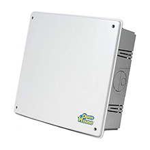 Channel Plus Open House H312KIT 12in Plastic Structured Wire Enclosure, with cover PLU1018