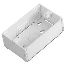 Quest Premier Raceway FFB1G-W Flat box, Single gang, white