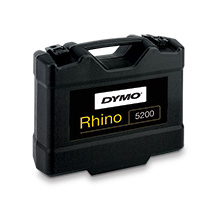 Dymo® 1756589 Rhino™ 5200 Industrial Advanced Labeling Tool Hard Case Kit RHI5200C