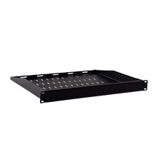 Royal Racks 1U Hidden Rack Shelf with Blank Cover ROY1243