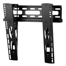 Royal Mounts™ Large Low Profile Tilt Mount for 22-47in for Ultra-Thin Flat Panels (Black) ROY3304B