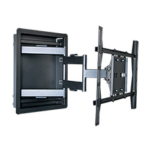 "Royal Mounts™ In-Wall Articulating Mount for 32""-60"" Displays (Black), Includes 6ft HDMI Cable Free! ROY3513B"