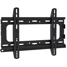 Royal Mounts™ Medium Fixed Mount for 23-42in Flat Panel TV's (Black)