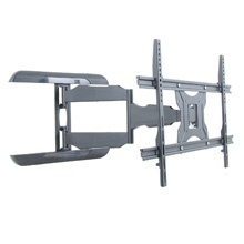 Royal Mounts™ Dual or Single Stud Large Swivel Mount for 37-55in displays (Black), Includes 6ft HDMI Cable Free! ROY6604B