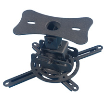 Royal Mounts™ Universal Projector Mount for Projectors up to 33 lbs. (Black) ROY7408PMB