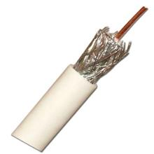 Skyline PLENUM RG-6 Single Coax, CCS,  1000ft, white SKL1270