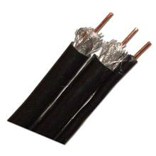 RG-6 Single Ground Black 1000ft Solid Copper