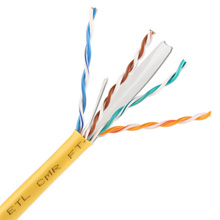 Cat 6 1000 FT BOX/YELLOW SKL1478