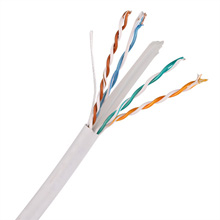 Skyline Cat6 8-Conductor 23awg wire, white, 1000ft pull-box