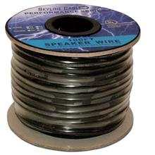 100ft 16 Gauge 4 Wire Speaker Cable, Paper Spool, CL2 UL, Blue SKL2102K