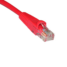 Skyline 1ft Cat5e Red Patch Cable SKL2199R