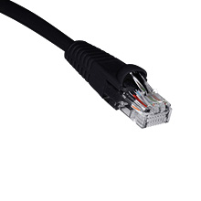 6ft CAT5E PATCH Cable BLK SKL2206K