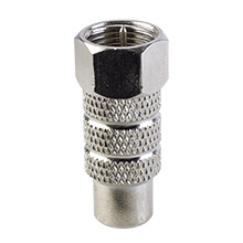 Skywalker Signature Series F Male to RCA Female Connector, each SKY01130