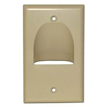Skywalker Signature Series Inverted Single Gang Bundled Wall Plate Almond SKY05065AS