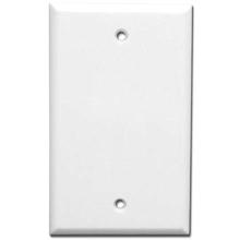 Skywalker Signature Series Blank Single Wall Plate, White SKY05085W