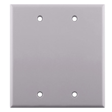 Skywalker Signature Series Blank White Dual GangWall Plate SKY05085WD