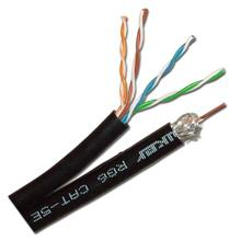 Skywalker Signature Series RG-6 / Cat 5e Siamese Cable RIB Solid Copper, 500ft SKY1212