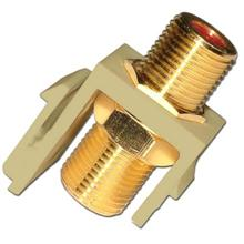Skywalker Signature Series Keystone 3.0GHz Connector Insert Brass/Gold Plated, Almond