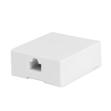 Skywalker Signature Series RJ-45 Surface Mount Modular Jack, White SKY20894W