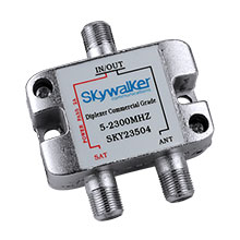 Skywalker Signature Series Diplexer For Dish Pro+ DC sat side only SKY23504
