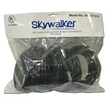 5 Skywalker Signature Series 12ft RG-6 Jumper Cable, with Lock & Seal connectors SKY317012