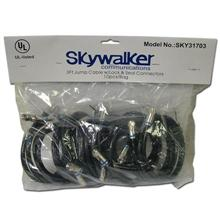 10 Skywalker Signature Series 3ft RG-6 Jumper Cable, with Lock & Seal connectors SKY31703