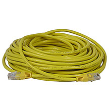 Skywalker Signature Series Cat5E Patch Cable, Yellow, 50ft