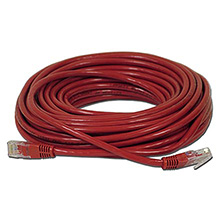 Skywalker Signature Series Cat5E Patch Cable, Red, 50ft SKY3184024
