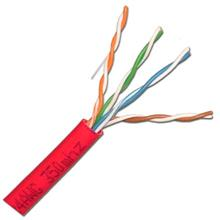 Skyline™ Cat5e 8-Conductor Cable 350MHz, 1000ft Nest in Box (Red) SKL1405