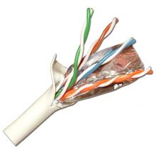 Skywalker Signature Series CAT5e FTP w/drain wire and foil shield  CM/CL2/UL rated, White, 1000ft SKY31876