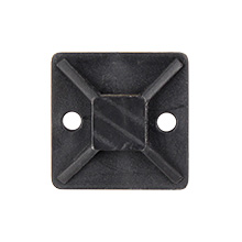 Skywalker Signature Series Cable Tie Mounting Base, Black, qty 100