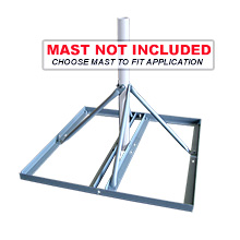 Skywalker Signature Series Non-Penetrating Roof Mount Base (mast not included) SKY32816