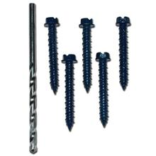 Skywalker Signature Series Concrete Screws and Drill Bit Kit