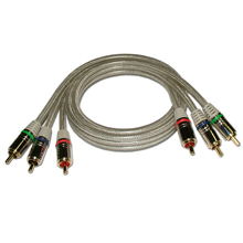 HQ Premium 12-ft Component Video Cable