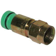 Belden Model SNS1P59QS Snap-N-Seal Quadshield connectors, qty50