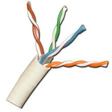 Vertical Cable Cat-5e Plenum, 24awg Solid, 1000ft Pull box, White VER1511