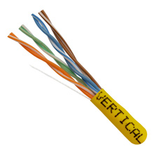 Cat 5e 1000 FT BOX/Yellow VER1591