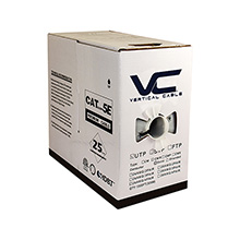 Cat 5e 1000 FT BOX/Black VER1596