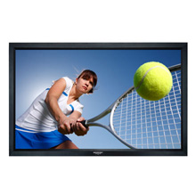 Vivid™ 92 in. SoundView™ Projection Screen with Black Velvet Frame, HDTV (16:9)