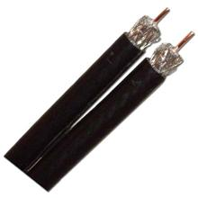 Channel Master® 3GHz Dual RG-6 CCS Coaxial Cable, 500ft Box (Black)