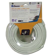 Swann SW271-S15 Siamese Power and Coax Cable with BNC connectors, 50ft at Sears.com